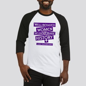WELL-BEHAVED WOMEN Baseball Jersey