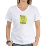 Fun Women's V-Neck T-Shirt: Hardest task