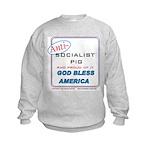 Anti-socialist Pig Kids Sweatshirt