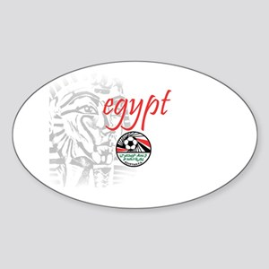 The Pharaohs Oval Sticker