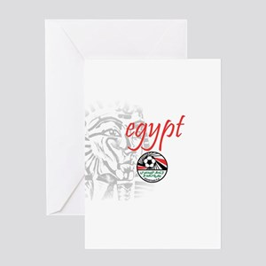The Pharaohs Greeting Card