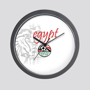 The Pharaohs Wall Clock