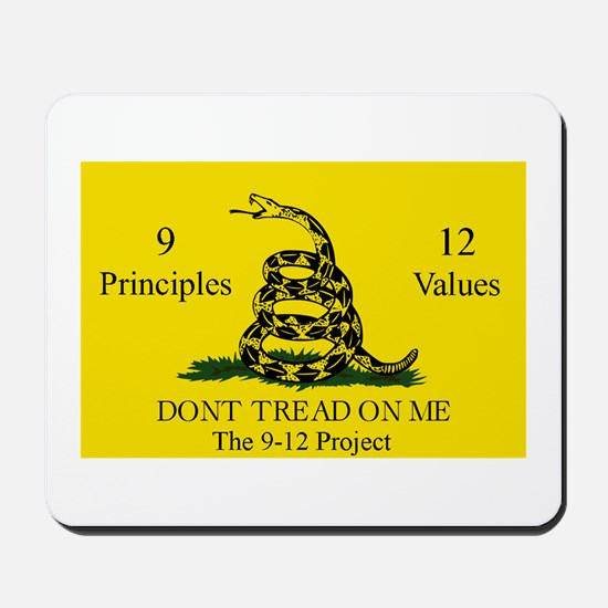 Don't Tread on Me 9-12 Mousepad