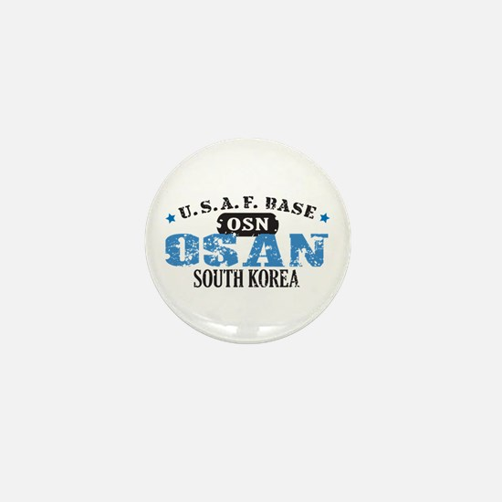 Osan Air Force Base Mini Button