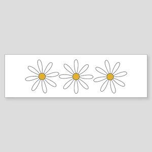 Daisies Bumper Sticker
