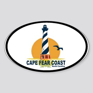 Cape Fear Coast NC Oval Sticker