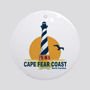 Cape Fear Coast NC Ornament (Round)