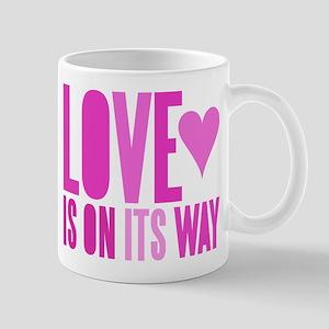 Love Is On Its Way Mug