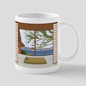 Lake HouseWindow View Artsy Mug