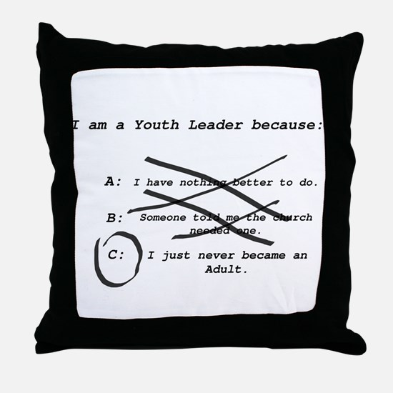 Cute Leader Throw Pillow