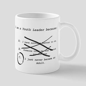 I Am a Youth Leader Mugs
