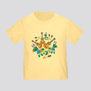 Cheerful Cinco de Mayo Toddler T-Shirt