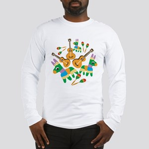 Cheerful Cinco de Mayo Long Sleeve T-Shirt