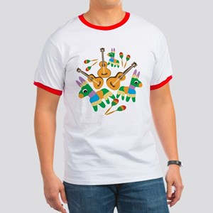 Cheerful Cinco de Mayo Ringer T