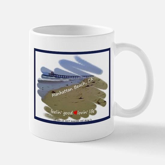 Cute Manhattan beach Mug