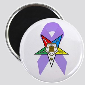 Eastern Star Cancer Awareness Magnet