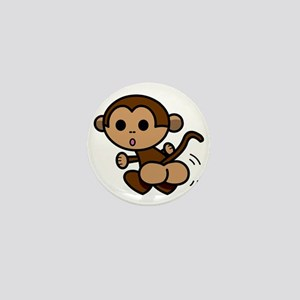 Monkey Shake Mini Button