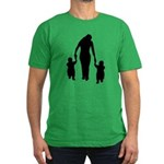 Mother and Children Men's Fitted T-Shirt (dark)