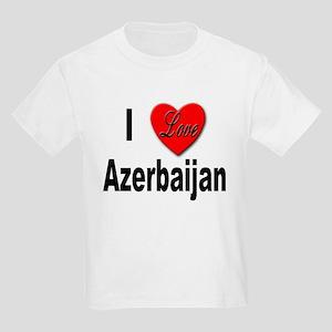 I Love Azerbaijan (Front) Kids T-Shirt