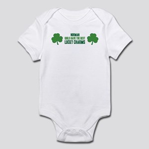 Norman lucky charms Infant Bodysuit