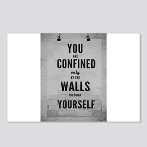 You are confined only by Postcards (Package of 8)