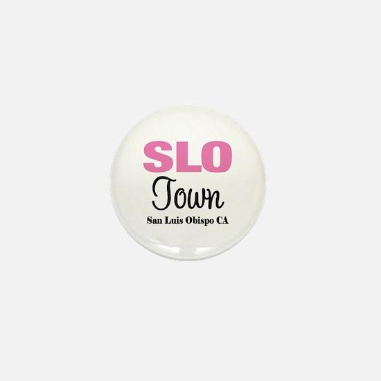 Stylish San Luis Obispo Mini Button