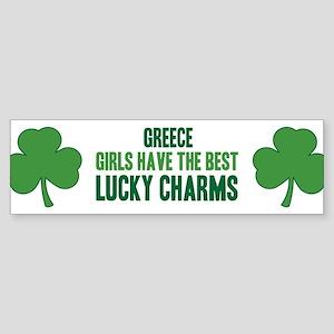 Greece lucky charms Bumper Sticker