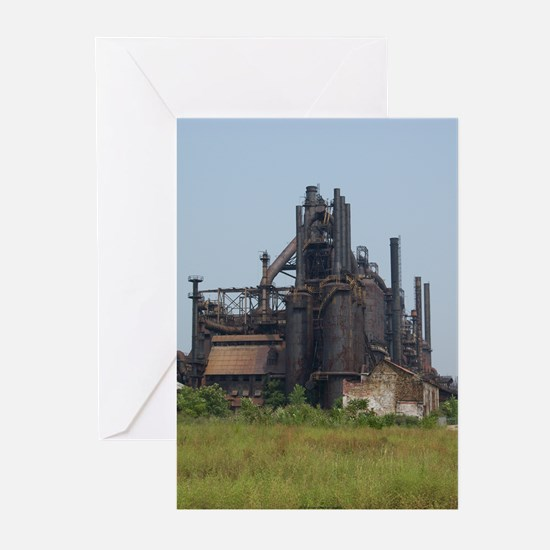 Blast Furnace Greeting Cards (Pk of 10)
