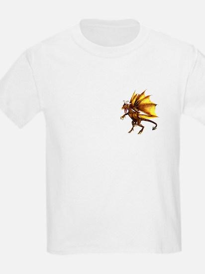 Yellow Dragon Kids T-Shirt