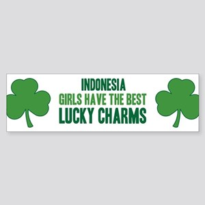 Indonesia lucky charms Bumper Sticker