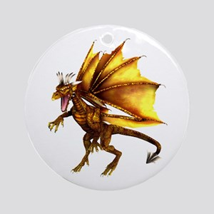 Yellow Dragon Ornament (Round)