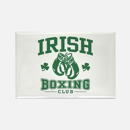 Irish Boxing Rectangle Magnet