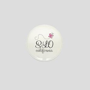 Pretty SLO California Mini Button