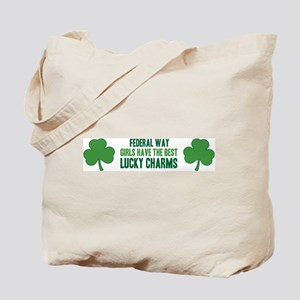 Federal Way lucky charms Tote Bag