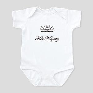 HER MAJESTY Infant Bodysuit