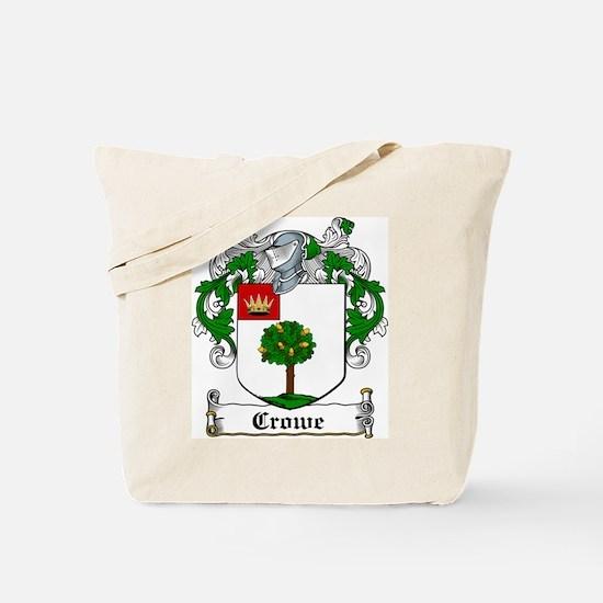 Crowe Coat of Arms Tote Bag