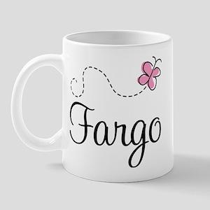 Pretty Fargo North Dakota Mug