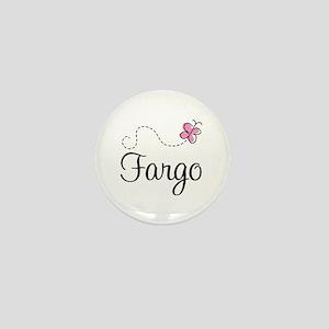 Pretty Fargo North Dakota Mini Button