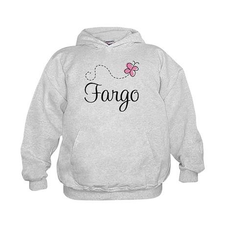 Pretty Fargo North Dakota Kids Hoodie