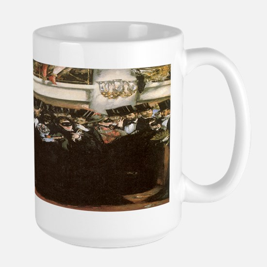 Masked Ball at the Opera by Manet Large Mug