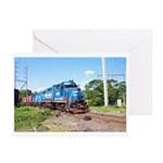 Spirit Of Conrail Greeting Cards (Pk of 10)