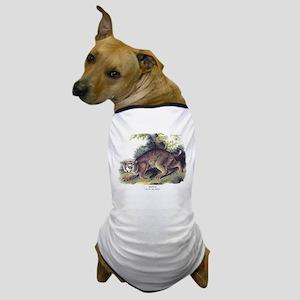 Audubon Bobcat Animal Dog T-Shirt