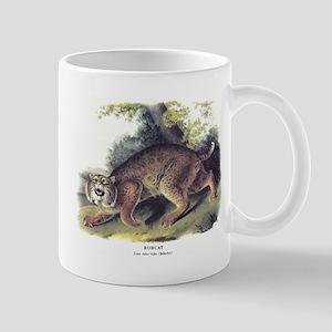 Audubon Bobcat Animal Mug