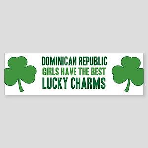 Dominican Republic lucky char Bumper Sticker
