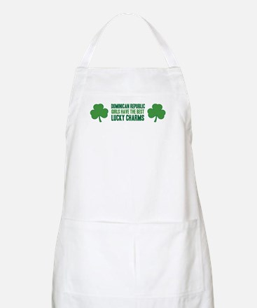 Dominican Republic lucky char BBQ Apron