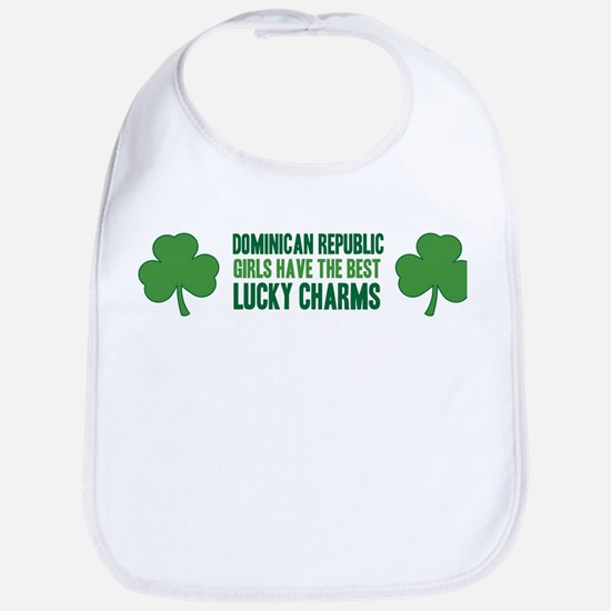 Dominican Republic lucky char Bib