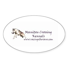 MCK Racing Siberians Oval Decal