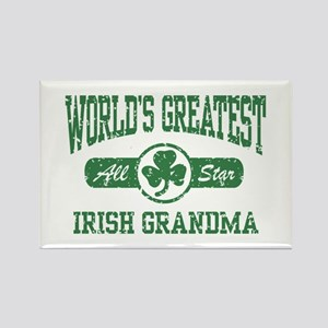 World's Greatest Irish Grandma Rectangle Magnet