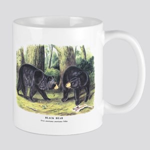 Audubon Black Bear Animal Mug