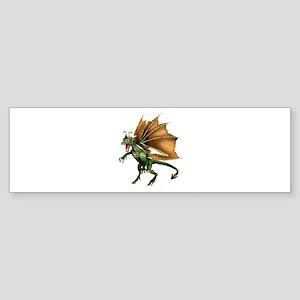 Green Dragon Bumper Sticker